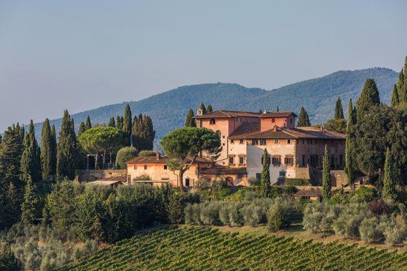 Vignamaggio er et drømmested.