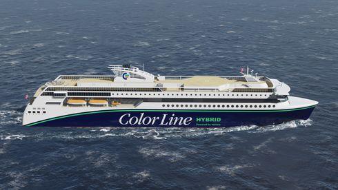 Color Lines nye hybride passasjerferge får motorer fra Bergen
