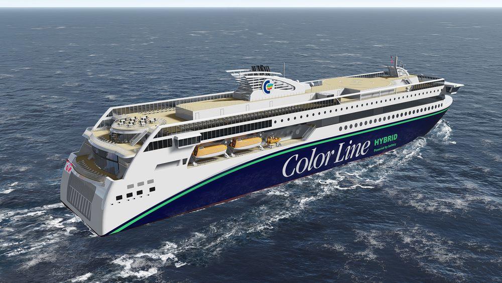 Color Hybrid blir med sine 160 meter lengde og 27 meter bredde verdens største hybridferge. Det blir i volum (bruttotonnasje) også det største skipet Ulstein verft har bygget.