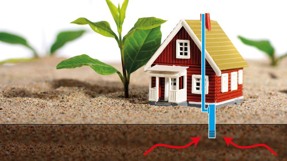 Statens Byggeforskningsinstitutt i Danmark mener dagens radonmålinger ikke er tilstrekkelig ved bruk av passivt radonsug/ radonbrønn, som vist på bildet.