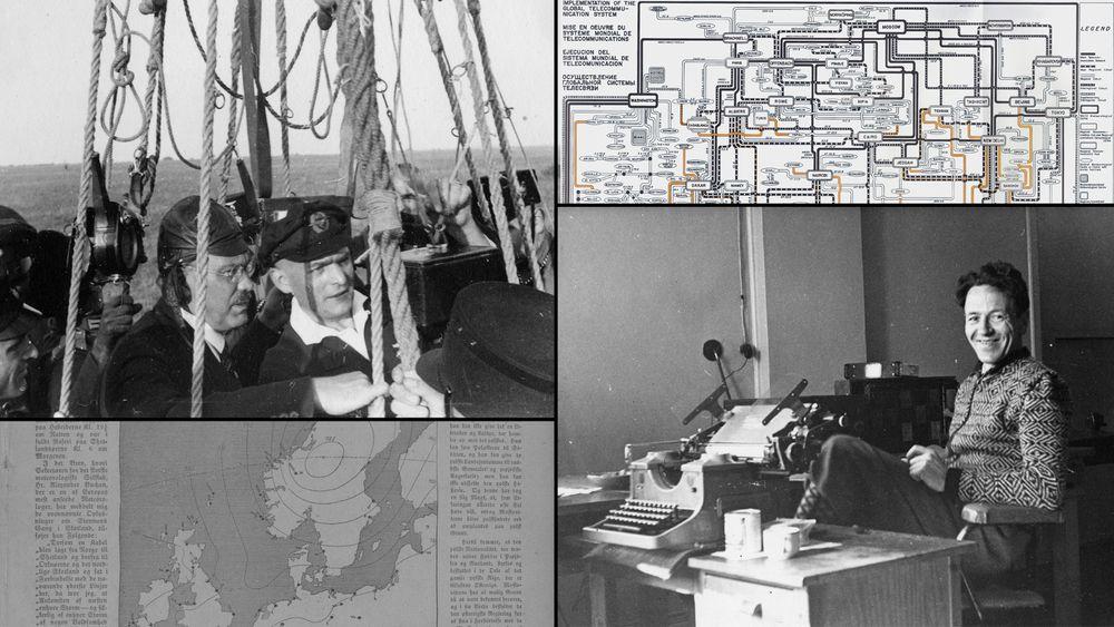 Dagens værvarsling fikk sin begynnelse i 1854 - med en storm. Den gang fulgte de stormens bevegelser ved hjelp av telegrafstasjoner. I dag lages varslene  av superdatamaskiner, som er programmert av forskere og meteorologer.
