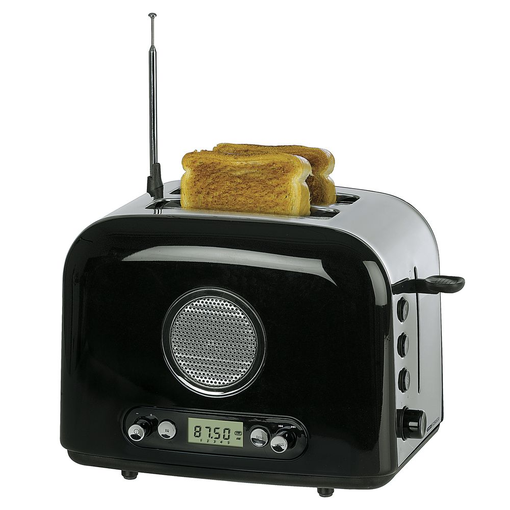 OBH Nordica Radio Toaster