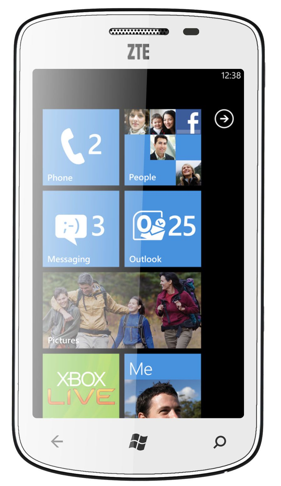 ZTE Windows Phone Mango