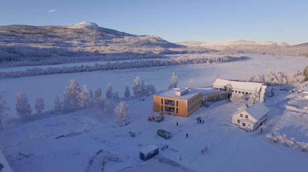 Sinfets utregninger viser at Campus Evenstad har nådd målet om å bli et klimabygg i verdensklasse.