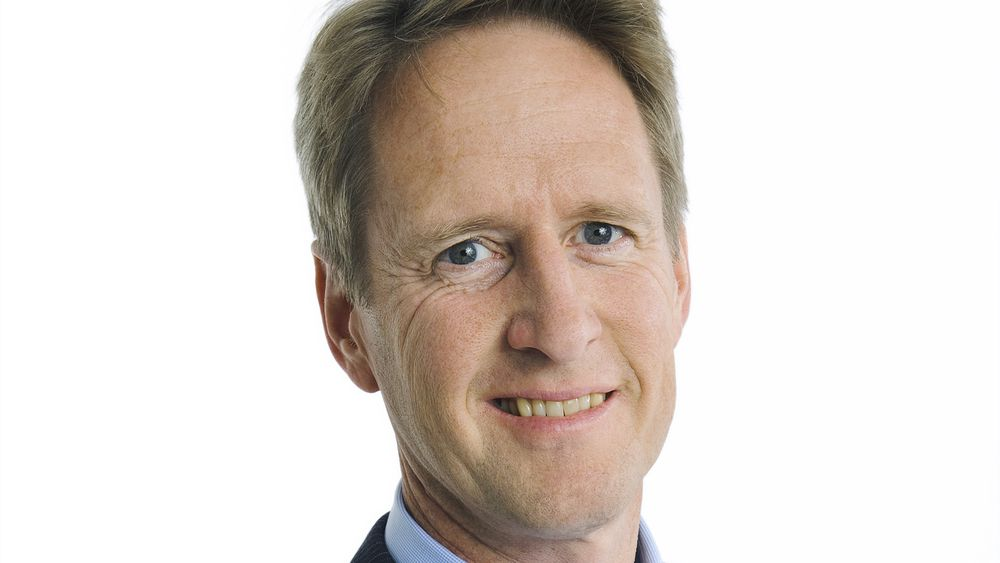 "Håkan Eriksson kan smykke seg med tittelen ""Senior Vice President, Chief Technology Officer, Head of Group Function Technology & Portfolio Management and Head of Ericsson in Silicon Valley""."