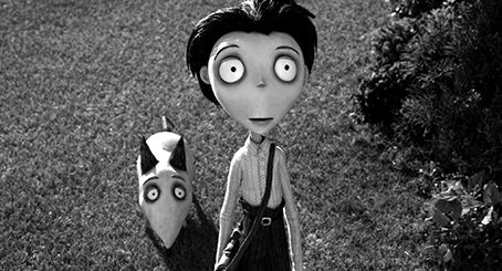 """FRANKENWEENIE"" (L-R) SPARKY and VICTOR. ©2012 Disney Enterprises, Inc. All Rights Reserved."