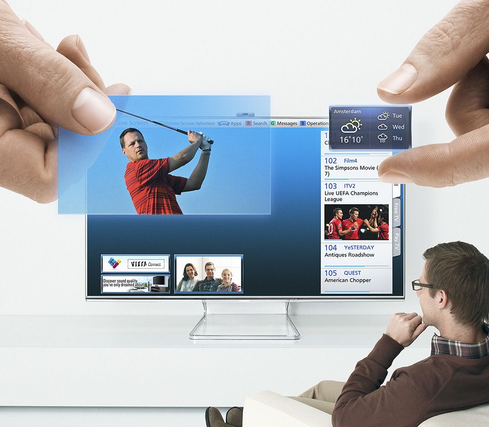 Panasonic Viera Home Screen