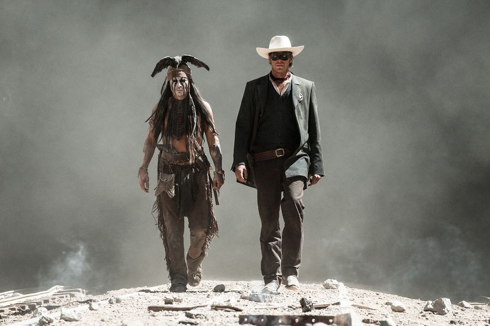"""THE LONE RANGER""