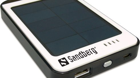 Solar PowerBank 6000 mAh