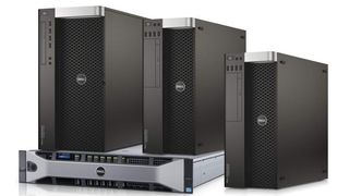 Dell Precision Tower 5810, Tower 7810, Tower 7910, og Rack 7910