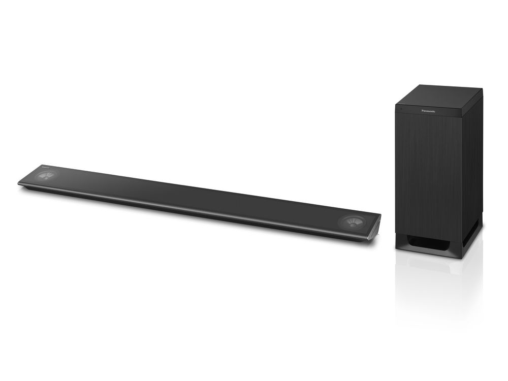 Panasonic ALL Soundbar og Speakerboard
