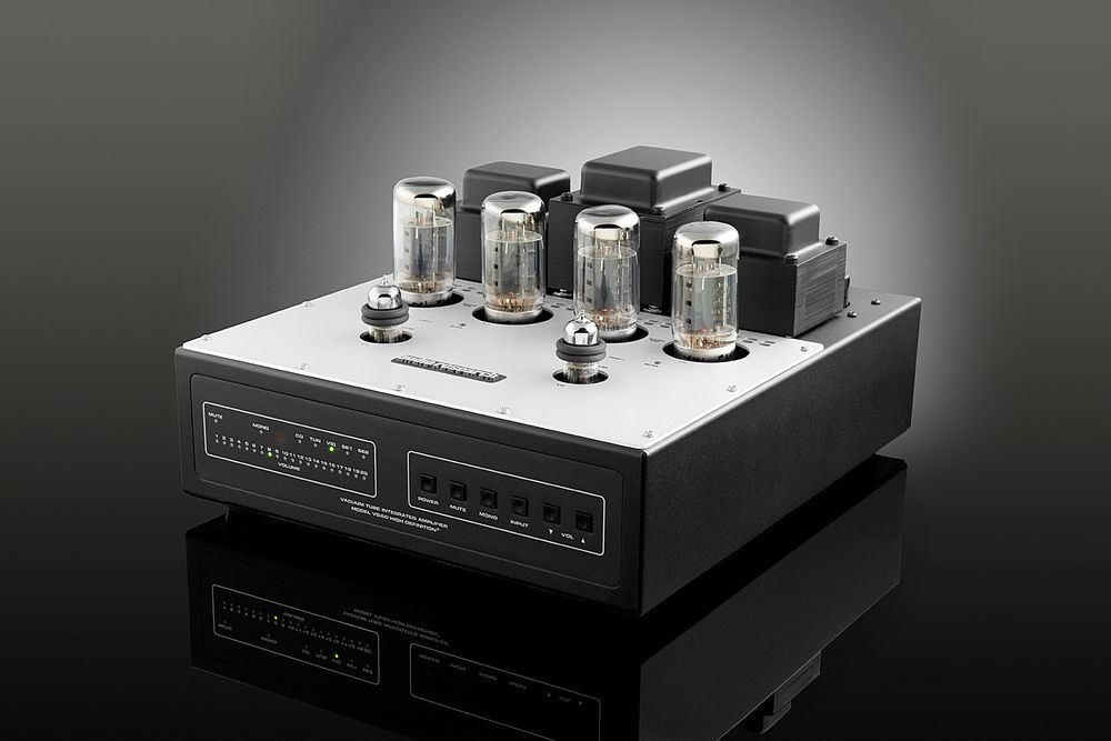 Audio Research VSi60, VT Integrated Amp. 2 x 50 watt, 5 linjeinnganger og RCA. Pris: 49.500,-