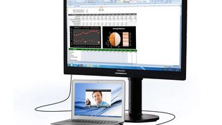 Philips 221S6QUMB USB Docking LCD Monitor