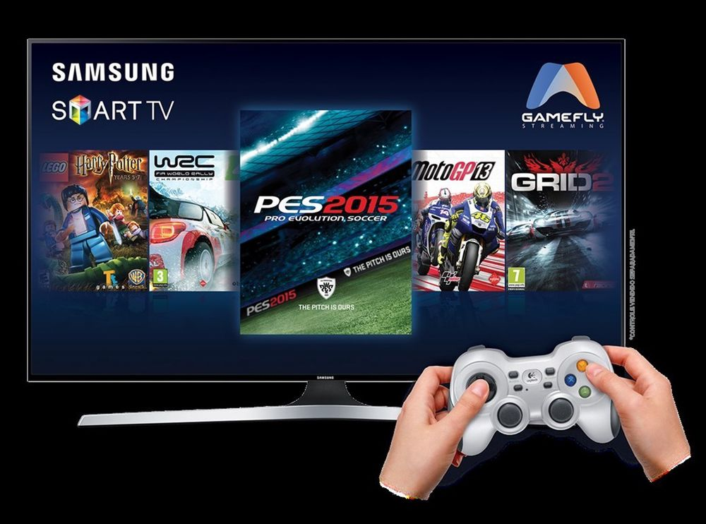 Samsung GameFly Streaming