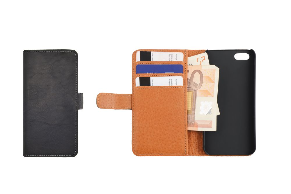 Essentials Leather Booklet Case