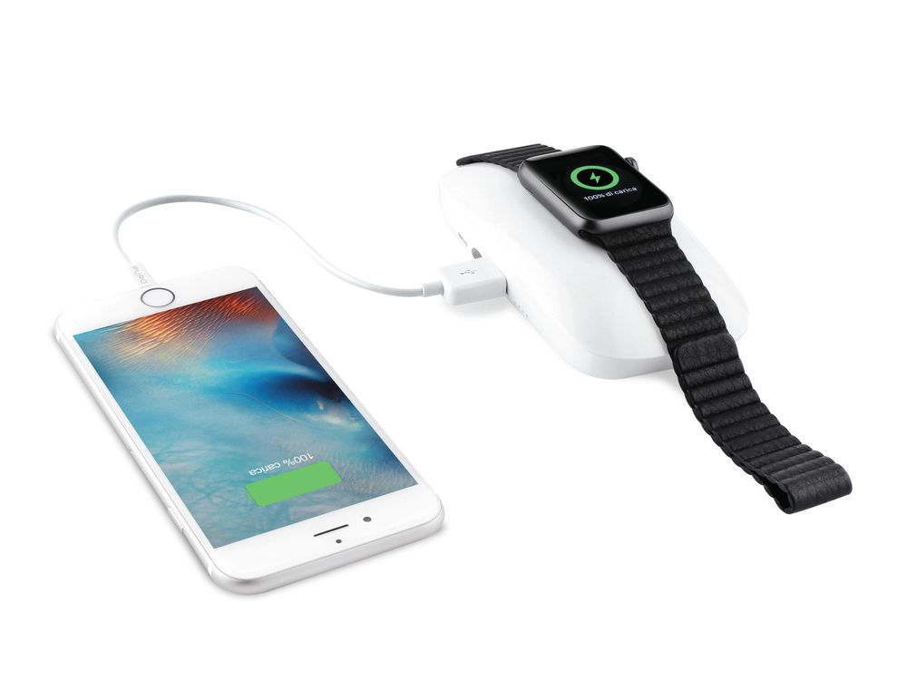 Puro Dual iPower Apple Watch Power Bank