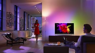 OLED MED AMBILIGHT