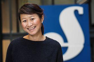 Camilla Kim Kielland, kommunikasjonsdirektør i Schibsted