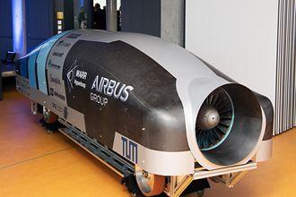 Den raskeste kapselen i konkurransen var prototypen utviklet av studenter ved det tekniske universitetet i München.