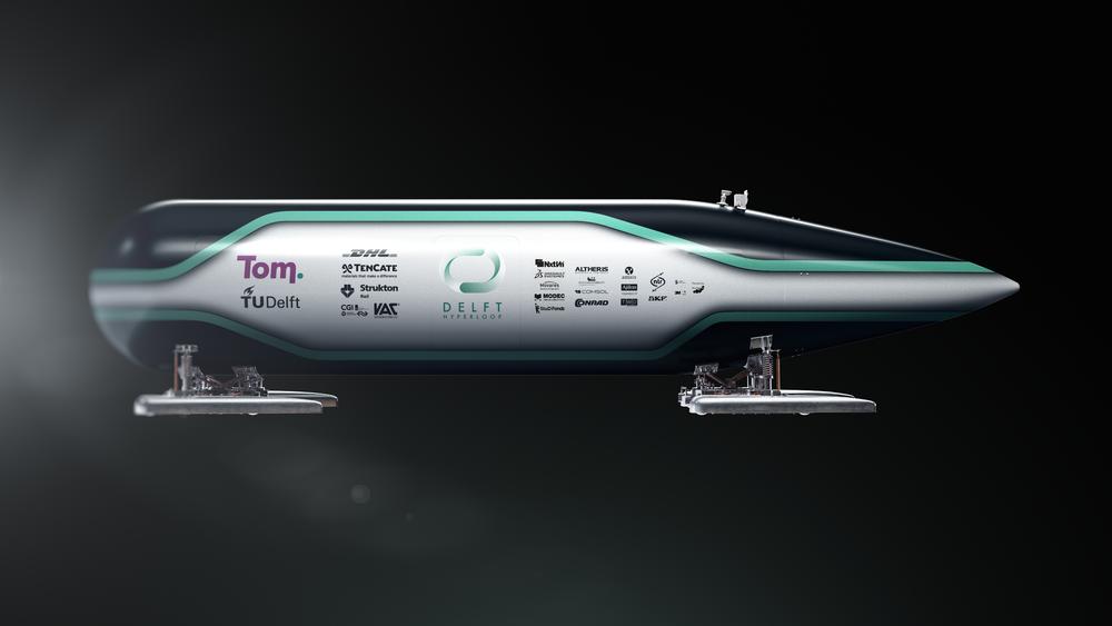 Laget fra det tekniske universitetet i Delft vant prisen for raskeste Hyperloop-kapsen under SpaceX-konkurransen i helgen.