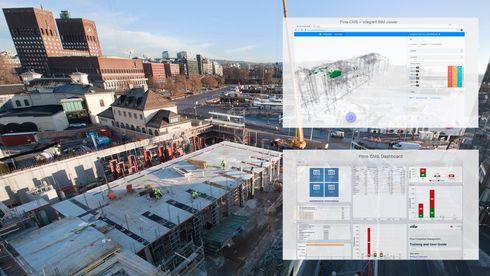 Byggebransjen blir stadig mer papirløs: Her tar de i bruk digitale verktøy fra oljebransjen