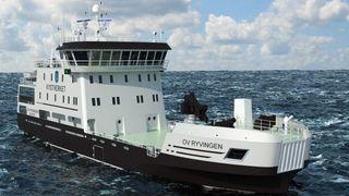 Fikk massiv kritikk etter de forrige bestillingene: Kystverkets nye skip blir hybrid og bygges i Norge