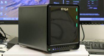Drobo har oppgradert sin fembrønns NAS