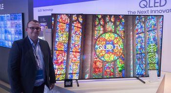 Samsungs 2017-TV-er Oppdatert: Så mye koster de nye QLED-TV-ene fra Samsung