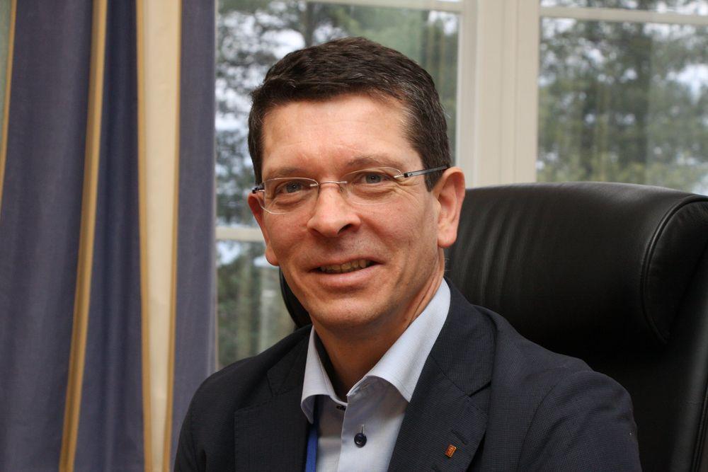 Konsernsjef Geir Håøy i Kongsberg Gruppen.