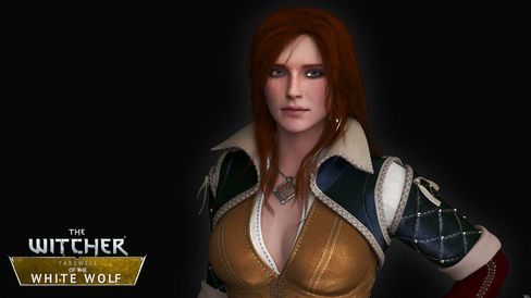 Triss Merigold i Farewell of the White Wolf.
