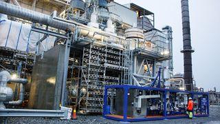 Nå er pilotanlegget i gang med å produsere hydrogen