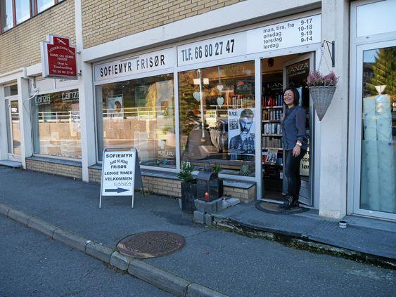 BLI NY: Bestill en time hos Sofiemyr Frisør!