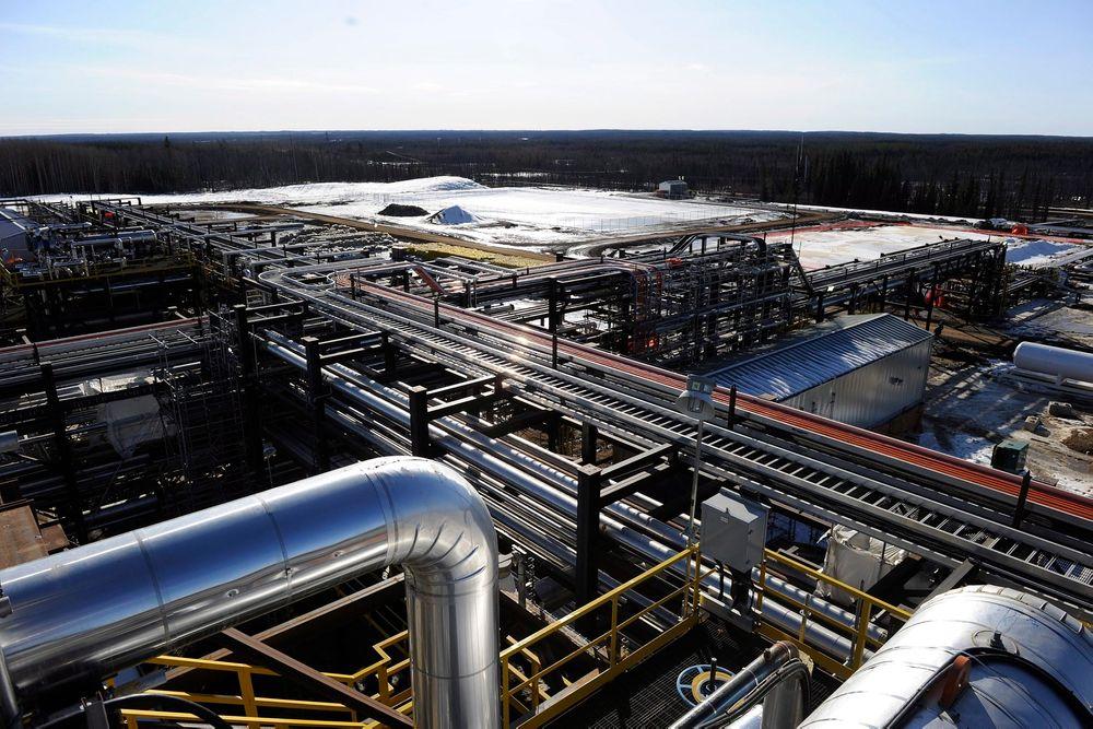 Statoils tidligere oljesand-anlegg i Leismer i Canada.