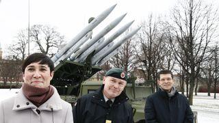 For første gang på 14 år kan Hæren selv beskytte seg mot luftangrep