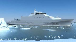 Forsvaret fikk skarp kritikk for teknologivalgene til nytt kystvaktskip - Verftet legger lokk på om løsningene blir innovative