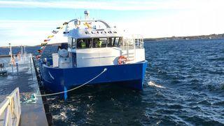 Møt Elfrida – verdens første elektriske arbeidsbåt