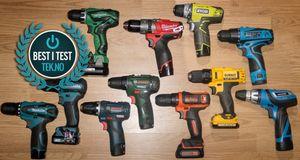 10,8V-driller