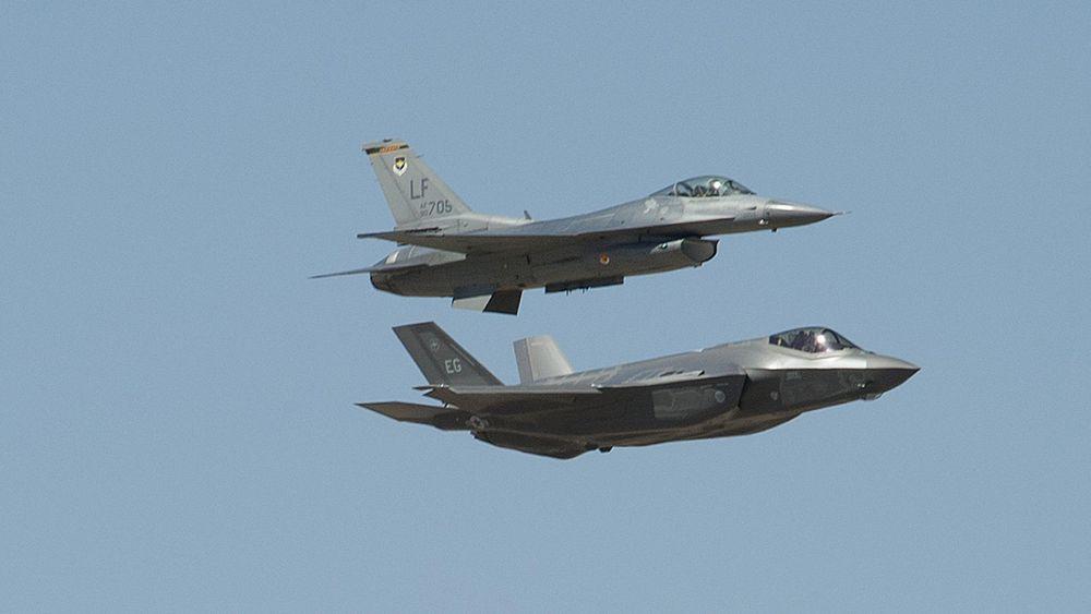 Flere av møtene på årets første Red Flag har vært mellom F-35 og F-16.