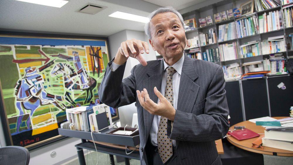 Professor Minoru Asada ved Universitetet i Osaka er kjent innen robotforskning og en filosof som er opptatt av fremtidens utfordringer. Han vil utvikle roboter basert på menneskelig intelligens og med empati.