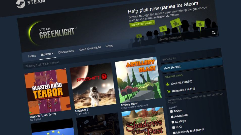 Nå forsvinner Steam Greenlight