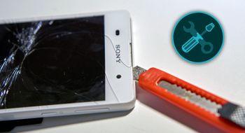 Reparasjon av Xperia E5 Vi åpner en av de billigste telefonene på markedet