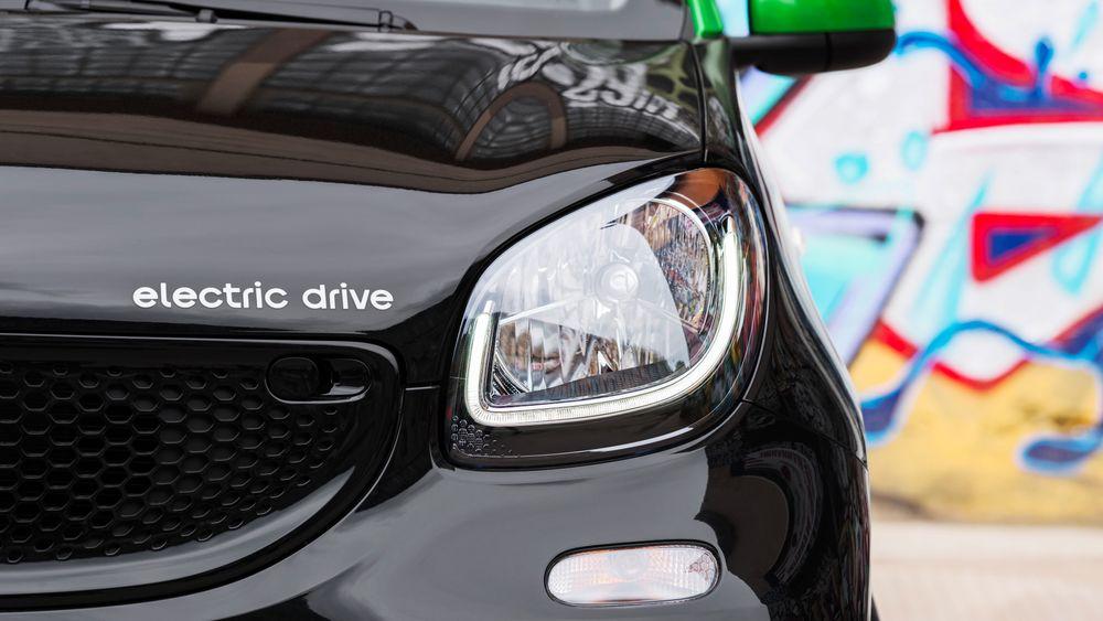 Daimler kutter ut forbrenningsmotoren i Smart i USA og Canada.