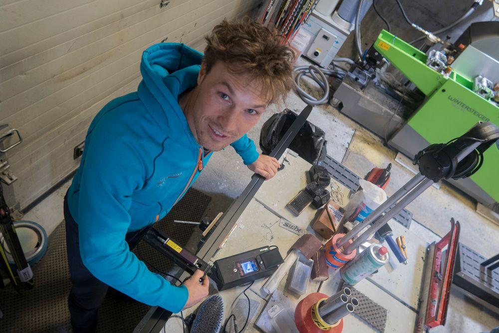 Skikyndig I: Felix Breitschädel er fagansvarlig for utstyr og teknologi hos Olympiatoppen. Han har doktorgrad i friksjon mellom ski og snø og er også forsker ved NTNU.