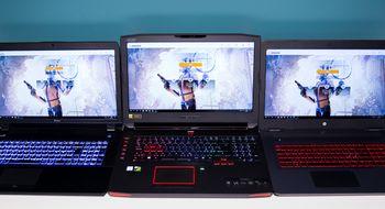 Spillbærbare med GTX 1070-grafikk