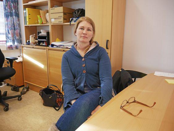 FØLGER OPP: Virksomhetsleder Heidi Tomten i UTE i Oppegård kommune.