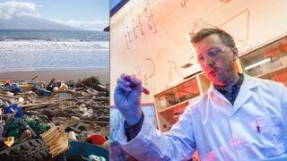 Telemark-forskernes oppdrag: Finn ut hvordan vi kan unngå plastavfall i naturen