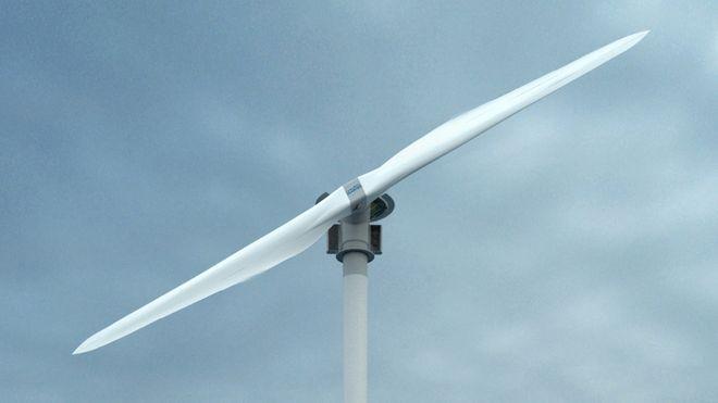 Skal teste to-blads havvindmølle på Karmøy