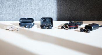 «Helt» trådløse øreplugger