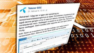 Løsepengevirus på ferde i Norge – Telenor advarer