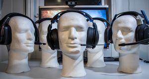 Trådløse gaming-hodetelefoner
